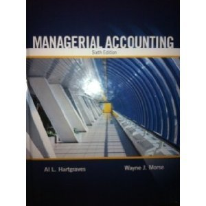 Managerial Accounting  6th edition cover