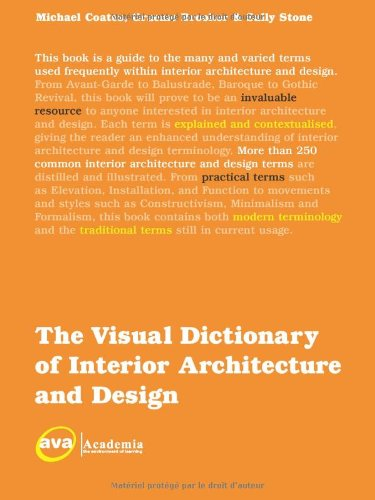 Visual Dictionary of Interior Architecture and Design   2008 edition cover