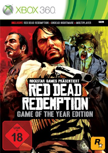 Red Dead Redemption - Game of the Year Edition Xbox 360 artwork