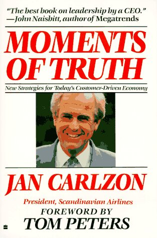 Moments of Truth   1989 (Reprint) 9780060915803 Front Cover