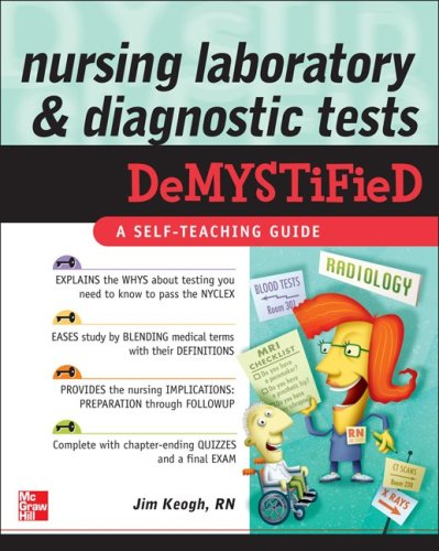 Nursing Laboratory and Diagnostic Tests DeMYSTiFied   2010 9780071623803 Front Cover