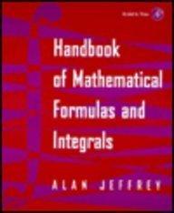 Handbook of Mathematical Formulas and Integrals  2nd 2000 edition cover