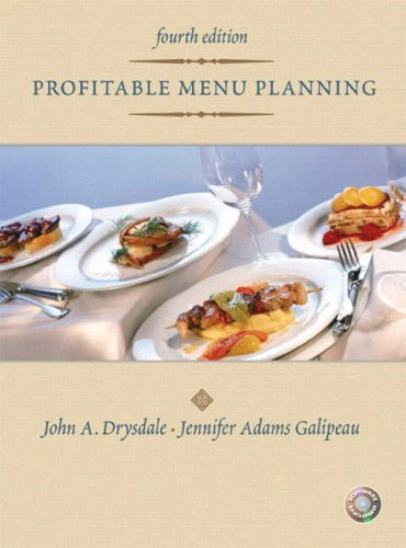 Profitable Menu Planning  4th 2008 9780131196803 Front Cover