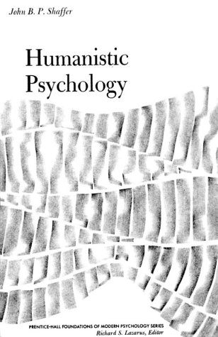 Humanistic Psychology  1st 1978 edition cover