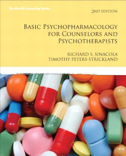 Basic Psychopharmacology for Counselors and Pyschotherapists  2nd 2012 edition cover