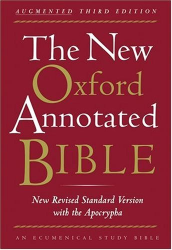 New Oxford Annotated Bible  3rd 2007 (Revised) edition cover