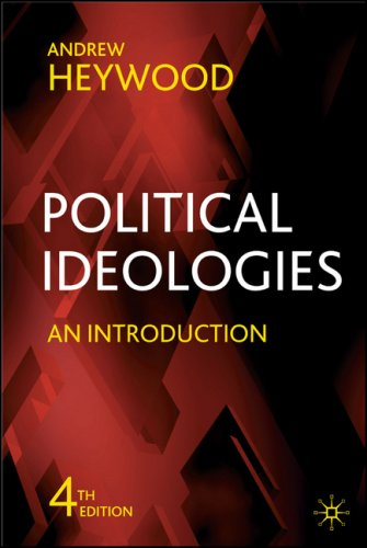 Political Ideologies An Introduction 4th 2007 (Revised) edition cover