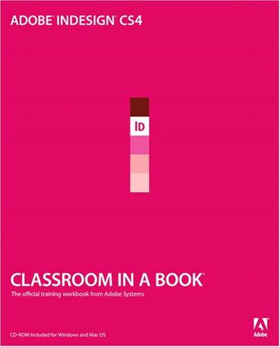 Adobe Indesign CS4   2009 (Workbook) edition cover