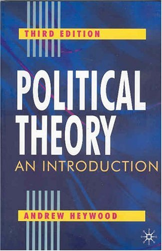 Political Theory An Introduction 3rd 2004 (Revised) 9780333961803 Front Cover