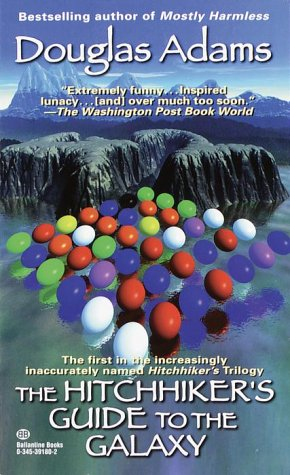 Hitchhiker's Guide to the Galaxy   1980 9780345391803 Front Cover
