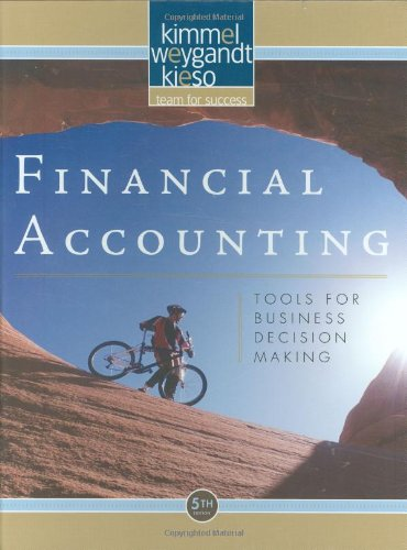 Financial Accounting Tools for Business Decision Making 5th 2009 edition cover