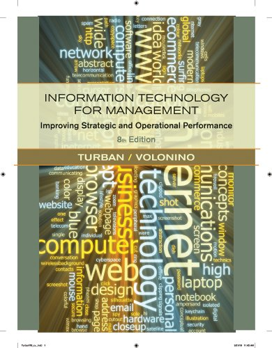 Information Technology for Management Improving Strategic and Operational Performance 8th 2011 edition cover