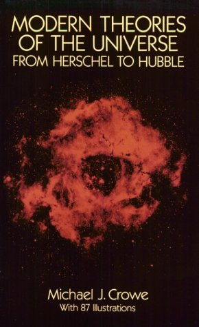 Modern Theories of the Universe, from Herschel to Hubble   1994 edition cover