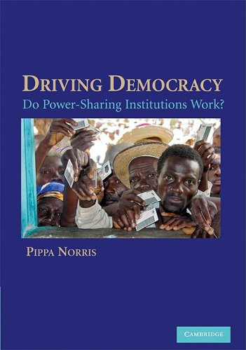 Driving Democracy Do Power-Sharing Institutions Work?  2008 edition cover