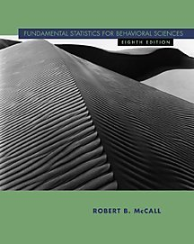 Fundamental Statistics for Behavioral Sciences  8th 2001 (Revised) 9780534577803 Front Cover