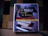 All You Really Need to Know A Student Success System for the Community Colleges 3rd (Revised) 9780757509803 Front Cover