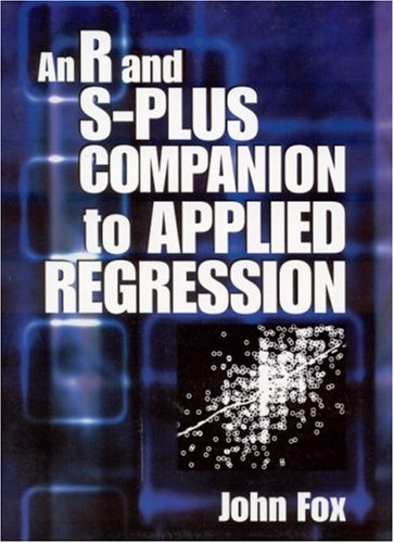 R and S-Plus Companion to Applied Regression   2002 edition cover