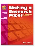 Writing a Research Paper (Step-by-Step)  3rd edition cover