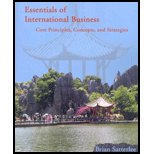 Essentials of International Business : Core Principles, Concepts, and Strategies 1st 2006 9780978874803 Front Cover