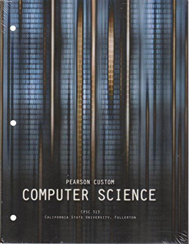 COMPUTER SCIENCE (LOOSE) >CUSTOM<       N/A 9781269058803 Front Cover