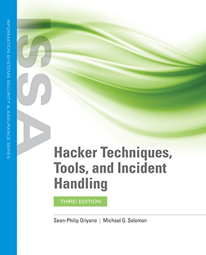 Hacker Techniques, Tools, and Incident Handling  3rd 2020 (Revised) 9781284147803 Front Cover