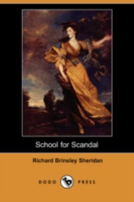 School for Scandal  N/A 9781406569803 Front Cover