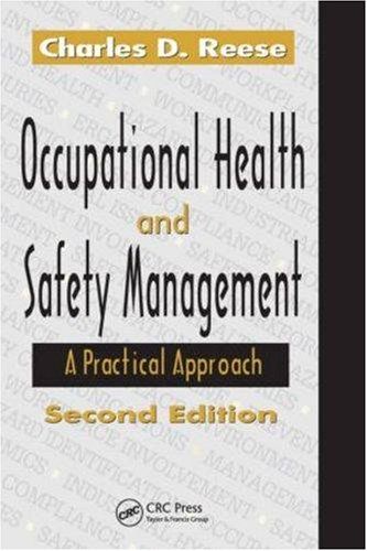 Occupational Health and Safety Management A Practical Approach 2nd 2008 (Revised) edition cover