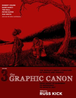 Graphic Canon From Heart of Darkness to Hemingway to Infinite Jest  2013 edition cover