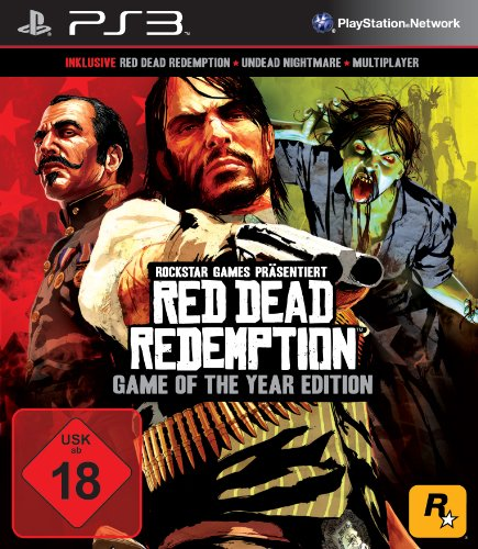 Red Dead Redemption - Game of the Year Edition PlayStation 3 artwork