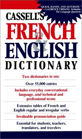 Cassell's French and English Dictionary   1966 9780020136804 Front Cover