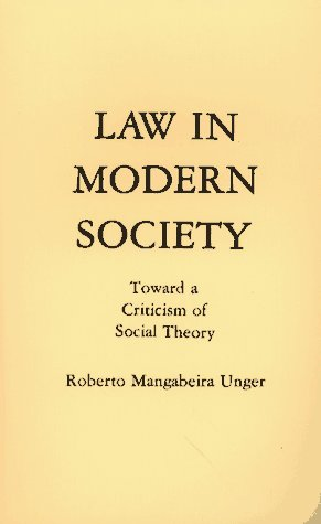 Law in Modern Society   1977 9780029328804 Front Cover