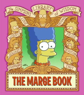 Marge Book Simpsons Library of Wisdom N/A 9780061698804 Front Cover