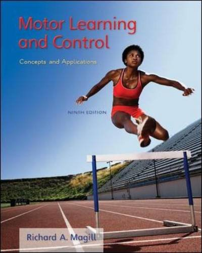 Motor Learning and Control Concepts and Applications 9th 2011 edition cover