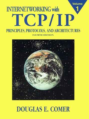 Internetworking with TCP/IP Principles, Protocols, and Architecture 4th 2000 edition cover
