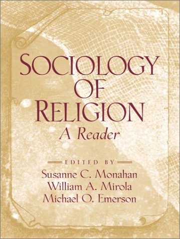 Sociology of Religion A Reader  2001 edition cover