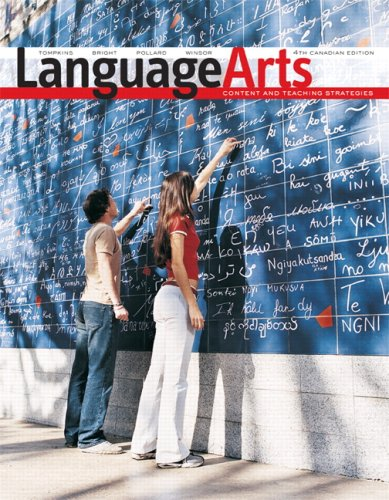 LANGUAGE ARTS >CANADIAN< 4th 2008 edition cover