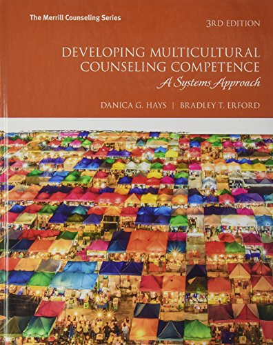 Developing Multicultural Counseling Competence: A Systems Approach  2017 9780134523804 Front Cover