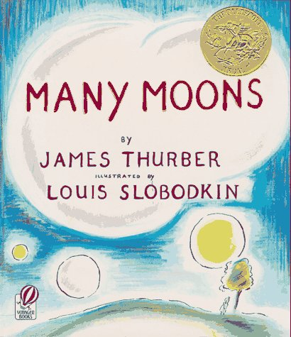 Many Moons   1973 (Reprint) edition cover