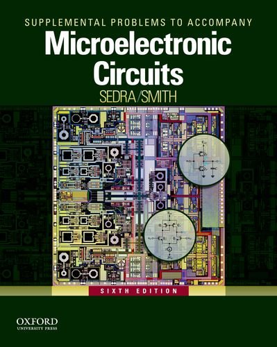 MICROELECTRONIC CIRCUITS-SUPP. N/A edition cover