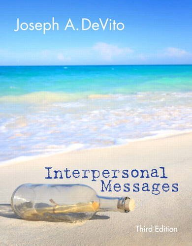 Interpersonal Messages  3rd 2014 9780205931804 Front Cover