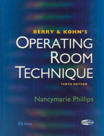 Operating Room Technique  10th 2004 (Revised) edition cover