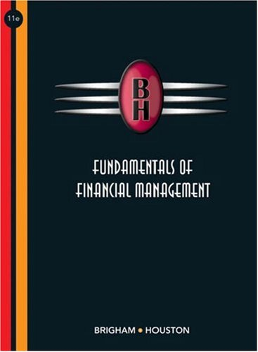 Fundamentals of Financial Management  11th 2007 (Revised) edition cover