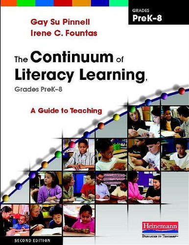 Continuum of Literacy Learning, Grades Prek-8 A Guide to Teaching 2nd 2010 edition cover