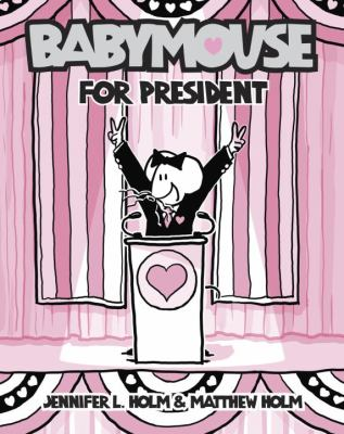 Babymouse for President   2012 edition cover