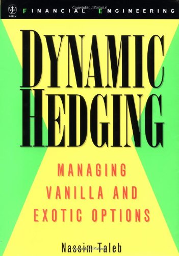 Dynamic Hedging Managing Vanilla and Exotic Options 1st 1996 edition cover