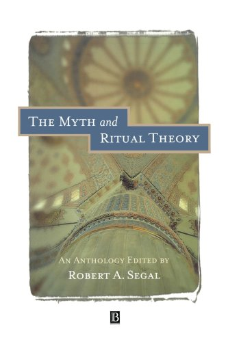 Myth and Ritual Theory An Anthology  1998 edition cover