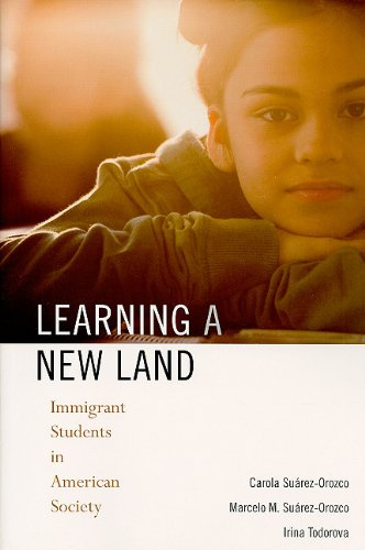 Learning a New Land Immigrant Students in American Society  2008 edition cover
