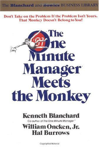 One Minute Manager Meets the Monkey   1989 edition cover
