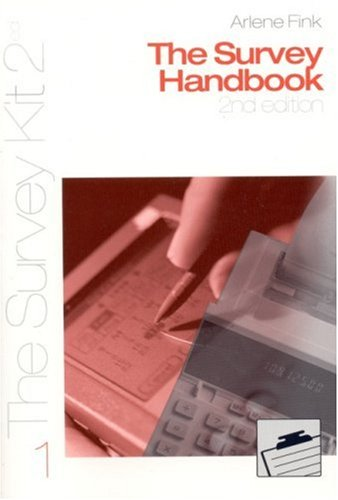Survey Handbook  2nd 2002 (Revised) edition cover