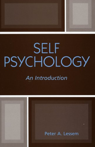 Self Psychology An Introduction  2005 edition cover